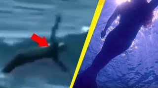 5 Real Life Mermaids Caught On Camera!
