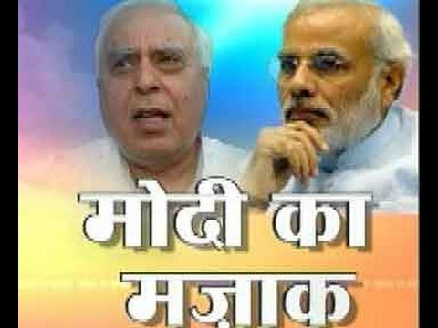 Kapil Sibal attacks Modi claims on Gujarat