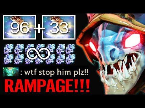 RAMPAGE Slark Max Speed !! 450 Agility Stealer & Moon Shard Crazy Fun Dota 2 by Timado