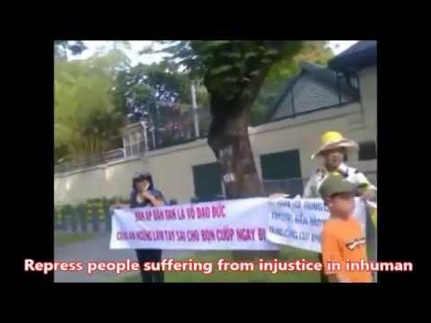 Dân oan miền Nam biểu tình tại Sài Gòn ngày 10-06-2014