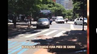 Buraco na Avenida Caranda� causa preju�zo a motoristas