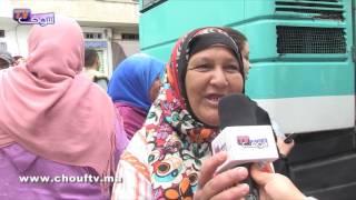 مغاربة فرحانين حيث غايصليو مع الملك محمد السادس (فيديو رائع) | خارج البلاطو