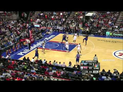 Knicks V 76ers 2nd Half 3/21/14 Game 69