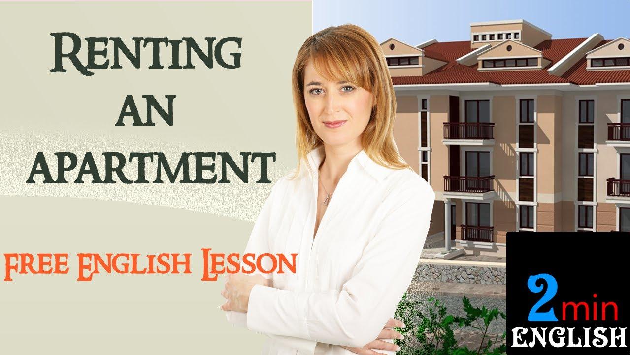 Esl Conversation Renting An Apartment
