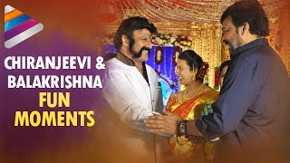 Watch: Chiranjeevi and Balakrishna Fun Moments at Music Di..