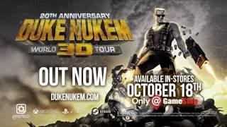Duke Nukem 3D: 20th Anniversary World Tour - Launch Trailer