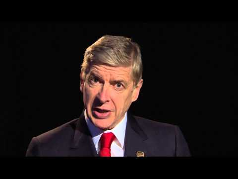 Arsenal boss Arsene Wenger's slightly creepy PUMA video