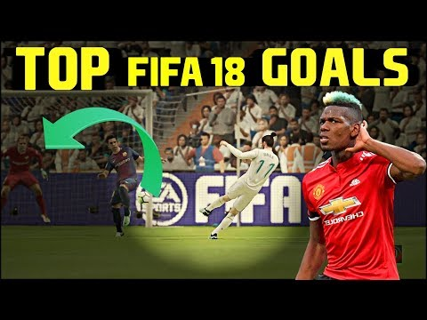 FIFA 18 - BEST Goals Compilation ● With Beat Drops ●