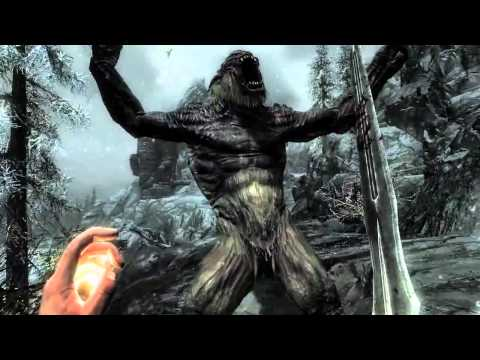 Elder Scrolls: Skyrim Gameplay Trailer [HD]