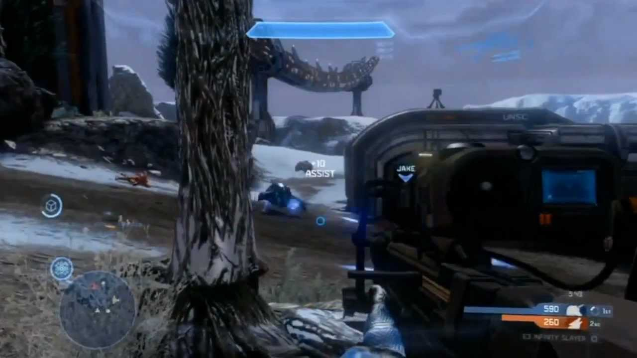 Halo 4 Multiplayer Gameplay Commentary : Storm Rifle - YouTube