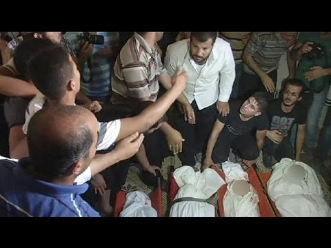Grief in Gaza: Israeli airstrike kills three children - no comment