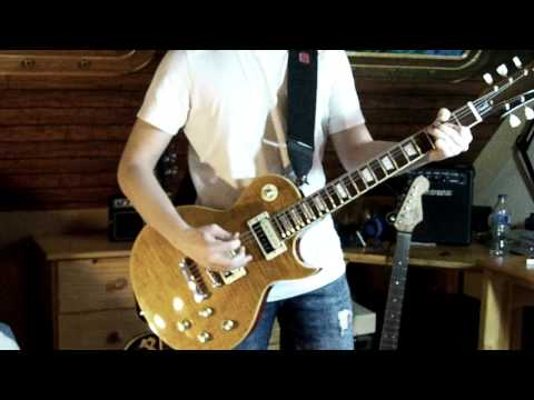 Guns N' Roses - Nightrain cover w/ Vintage V100 Paradise AFD, Amplitube 3 Slash