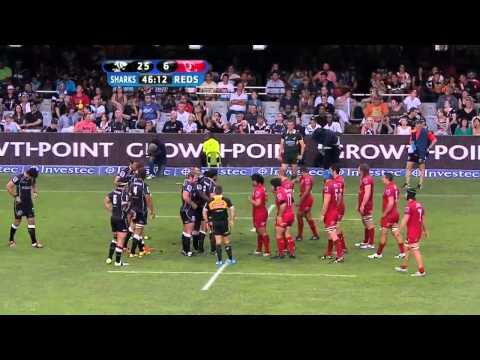 Jannie du Plessis backchats Lourens van der Merwe  |Super Rugby Video