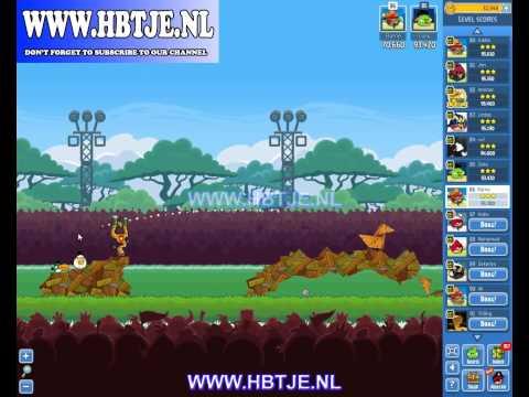 Angry Birds Friends Tournament Week 79 Level 4 high score 100k (tournament 4)