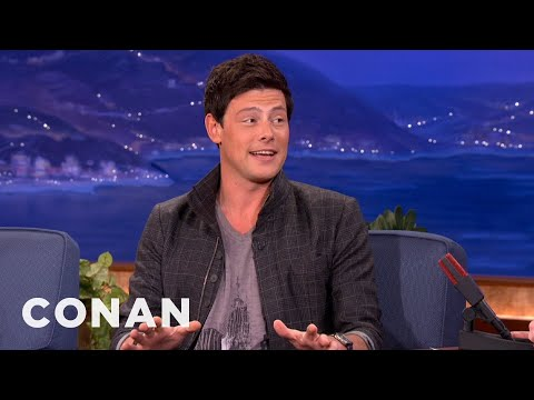 Cory Monteith Knows Lots About Sewage Treatment - CONAN on TBS