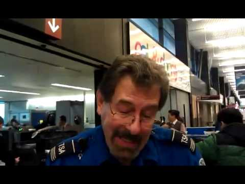 TSA agent Raymond Evans detains, assaults, and threatens me for exercising my first amendment rights