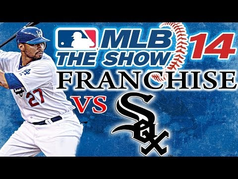 MLB THE SHOW 14 PS3: Los Angeles Dodgers vs Chicago White Sox Franchise Mode Game
