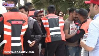 إجراءات أمنية شديدة وتفتيش صارم لجماهير الديربي البيضاوي |