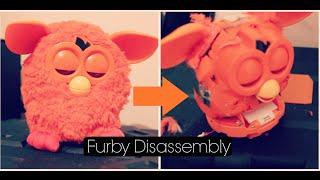 Furby 2012 - Full Disassembly - [Tutorial]