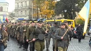 Марш на честь заснування УПА у Львові