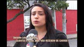 Clientes reclamam de atrasos na entrega de carros por concession�ria da capital