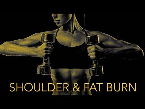 Dumbbell SHOULDER WORKOUT   30 Minutes   PLUS FAT BURN