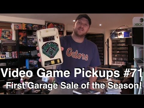 Video Game Pickups #71 - PSP Motherload and First Garage Sale Pickup