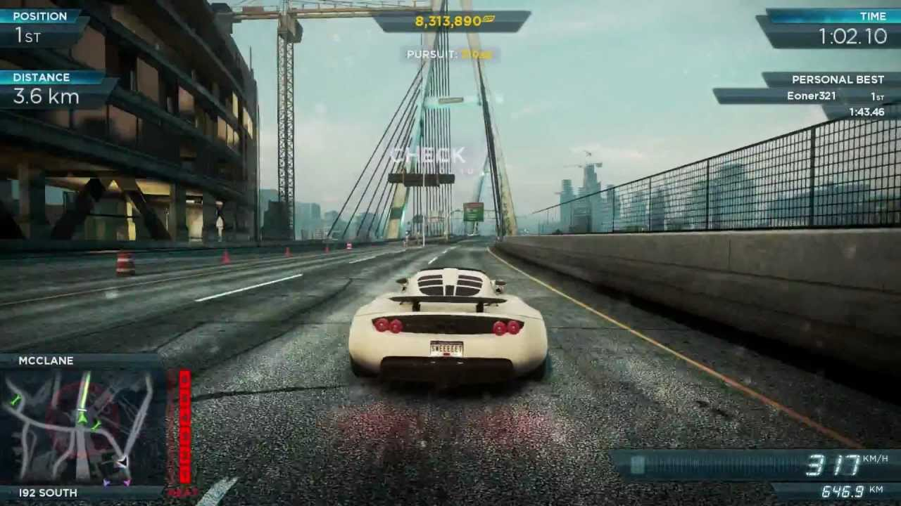nfs most wanted 2012 hennessey venom gt mw races 1 to. Black Bedroom Furniture Sets. Home Design Ideas