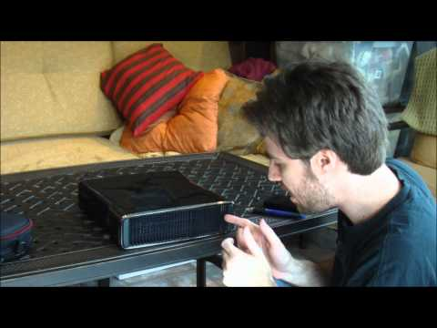 How to Install the Xbox 360 Slim Hard Drive (1080p HD),