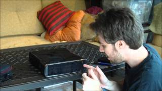How To Install The Xbox 360 Slim Hard Drive (1080p HD