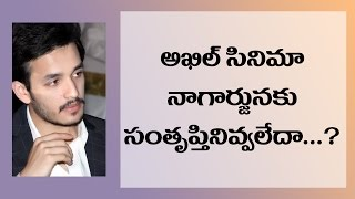 Nagarjuna Did Expect Akhil Movie Result Before Release ?