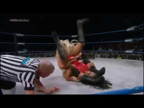 Taryn Terrell Vs Gail Kim Vs Havok - TNA Impact 2014 Highlights