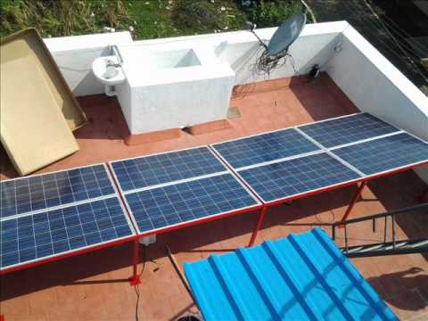 HOW SOLAR PANELS WORKING