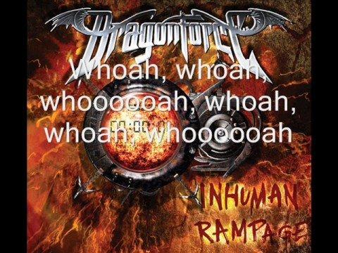DragonForce:Through The Fire And Flames Lyrics | LyricWiki ...