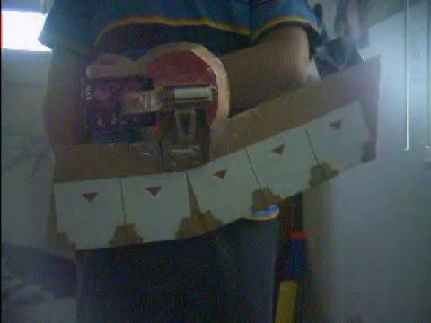 Yugioh Cardboard Duel Disk