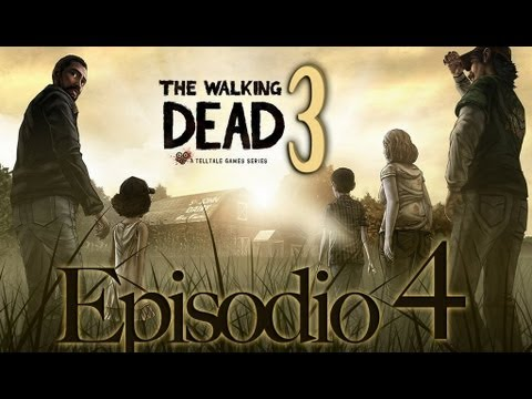 The Walking Dead - Telltale Games | Let[ES][SQ]s Play en Español | Episodio 4 - Capitulo 3