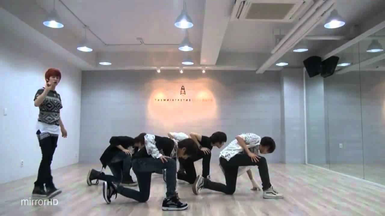 Boyfriend - Boyfriend mirrored Dance Practice [reup]