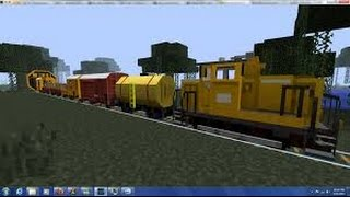 How To Make A Moving Train In Minecraft ( No Mods )