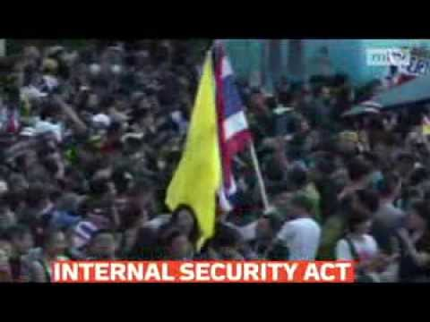mitv - Thailand's embattled premier invoked a special security law in the tense capital Bangkok