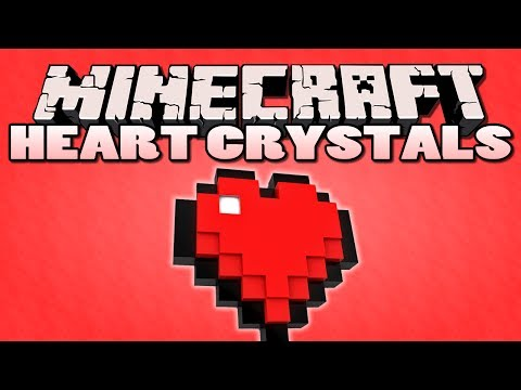 Minecraft: Heart Crystal Mod Showcase | More Health!