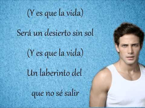 Gabriel Coronel - La vida sin ti (con letra)