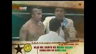 La Lucha Se Hizo: Hijo Del Santo Vs Negro Casas, Máscara