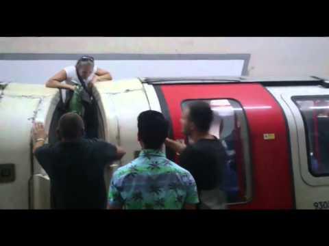 Stuck on London underground