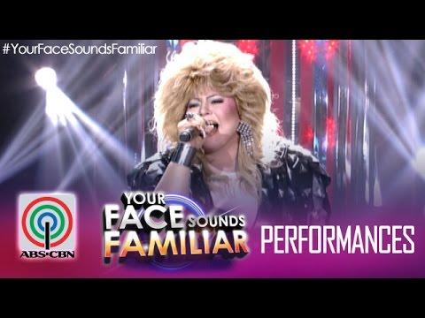 Your Face Sounds Familiar: Karla Estrada as Bonnie Tyler -