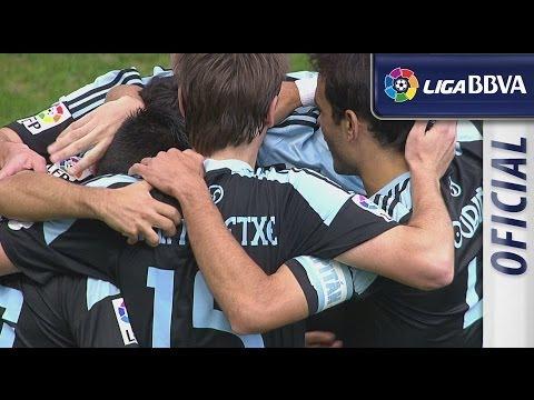 image vidéo Málaga CF (0-5) Celta de Vigo