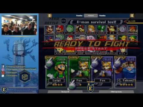 The Cave 24 Melee Doubles - FullLEAN vs MauiNecklord