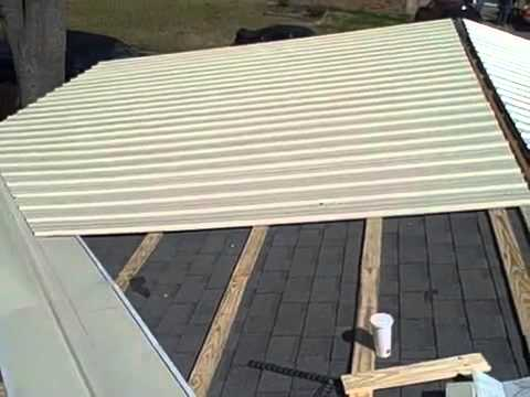 Metal Roofs Installing Metal Roofing Over Shingles