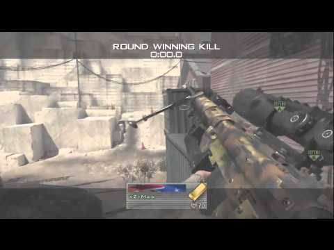 UPDATE VIDEO - Sick MW2 Trickshot Wallbang by xZyMaa [Clip #1]