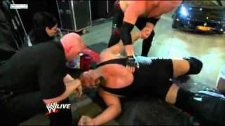 WWE Raw 23rd May 2011 Alberto Del Rio Car´s Ran Over Big Show