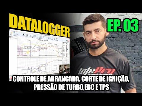 Controle de arrancada, Corte de Ignição, Pressão de turbo, EBC, TPS  - Dicas sobre Datalogger - EP03 - INJEPRO